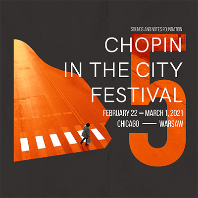 Chopin IN the City 2021 logo